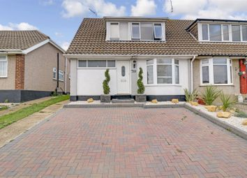 Thumbnail 3 bed semi-detached house for sale in Eastwood Park Drive, Eastwood, Leigh-On-Sea