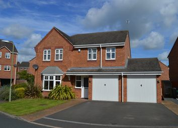 4 bed detached house for sale in Stuart Way, Market Drayton TF9