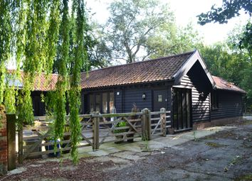 Thumbnail 3 bedroom barn conversion to rent in Old Norwich Road, Yaxley, Eye