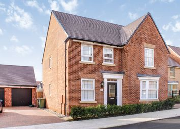 Thumbnail 4 bed detached house for sale in Leys Close, Priors Hall Park, Corby