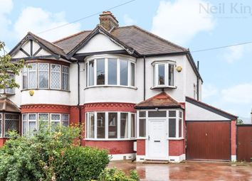 Thumbnail 3 bed semi-detached house to rent in Hillington Gardens, Woodford Green, Essex