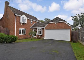Thumbnail 4 bed detached house for sale in Barncroft Close, Grove Green, Maidstone, Kent