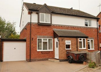 Thumbnail 3 bed semi-detached house for sale in Aspen Close, Alcester