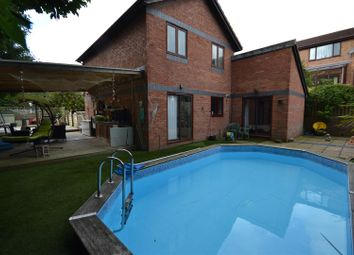 Thumbnail 4 bed detached house for sale in Cook Road, Barry