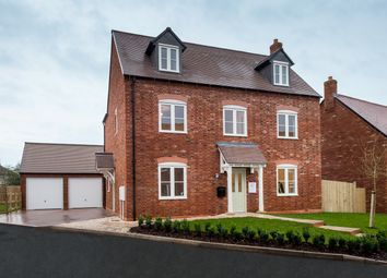 Thumbnail 5 bed detached house for sale in Church Lane, Ravenstone, Coalville