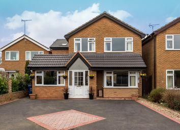 Thumbnail 4 bed detached house for sale in Heathlands Drive, Uttoxeter