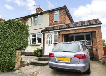 Thumbnail 3 bed semi-detached house for sale in Ratcliffe Road, Sileby, Loughborough, Leicestershire