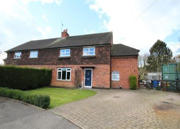 Thumbnail 4 bed semi-detached house for sale in Choseley Road, Knowl Hill, Reading
