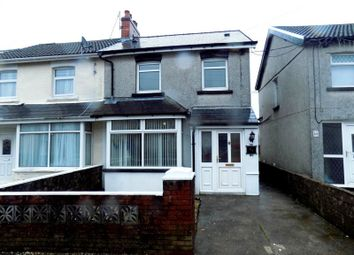 Thumbnail 3 bed property to rent in Gelligaer Road, Cefn Hengoed, Hengoed