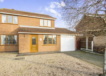 Thumbnail 4 bed detached house for sale in Whittle Close, Whetstone, Leicester