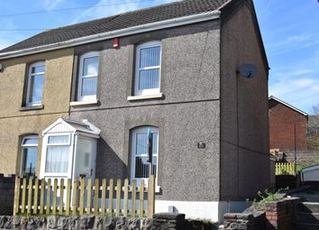 Thumbnail 2 bed semi-detached house to rent in Cefn Road, Bonymaen