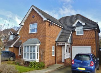 Thumbnail 3 bed detached house for sale in Withers Close, Oakham