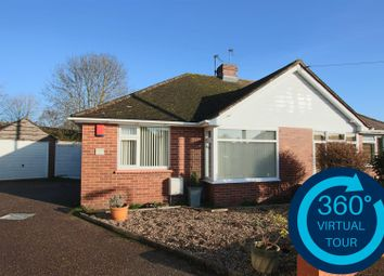 Thumbnail 2 bed semi-detached bungalow for sale in Woolsery Grove, Whipton, Exeter