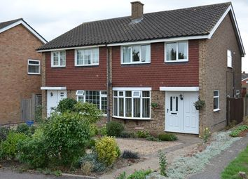 Thumbnail 3 bed semi-detached house to rent in 3 Bedroom Semi, With Conservatory Church Lane, Bedford