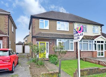 Thumbnail 3 bed semi-detached house for sale in Park Drive, Wickford, Essex