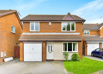 Thumbnail 4 bed detached house for sale in Whitton Way, Newport Pagnell, Milton Keynes, Bucks