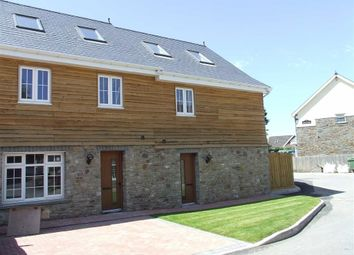 Thumbnail 3 bed end terrace house for sale in Pencaerfenni Court, Crofty, Swansea