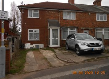 Thumbnail 1 bed end terrace house for sale in The Ring, Yardley, Birmingham