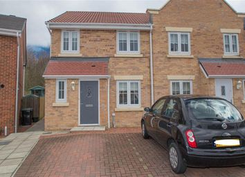 Thumbnail 3 bed terraced house for sale in Arkless Grove, The Grove, Consett
