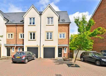 Thumbnail 4 bed town house for sale in Caberfeigh Close, Redhill, Surrey