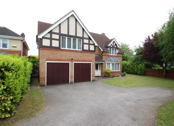Thumbnail 5 bed detached house to rent in Tattershall Close, Grantham