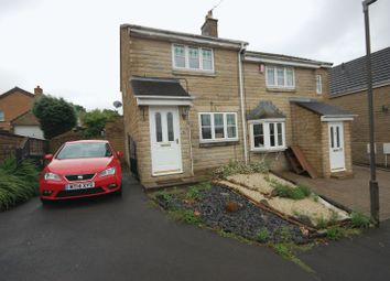 Thumbnail 3 bed semi-detached house to rent in Crowden Drive, Hadfield, Glossop
