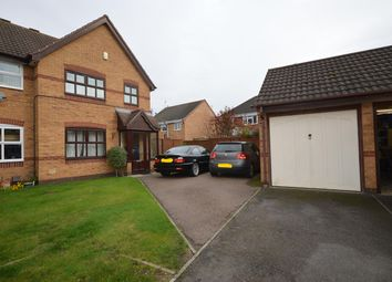 Thumbnail 3 bed semi-detached house for sale in Fallow Close, Broughton Astley, Leics