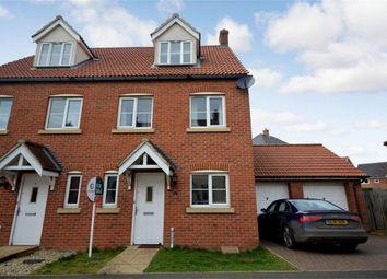 Thumbnail 3 bedroom semi-detached house for sale in Peregrine Mews, Cringleford, Norwich