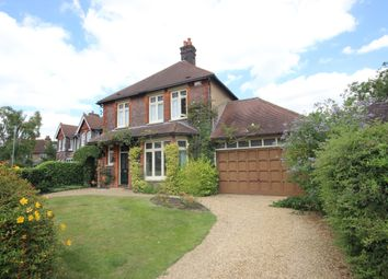 Thumbnail 4 bed detached house to rent in Devonshire Road, Harpenden, Hertfordshire