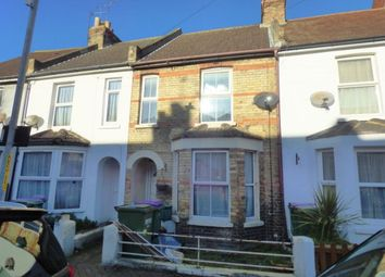 Thumbnail 2 bed terraced house for sale in Bradstone New Road, Folkestone