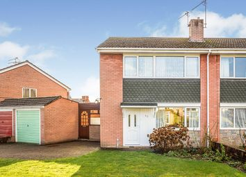 Thumbnail 3 bed semi-detached house for sale in Vyrnwy Road, Oswestry, Shropshire