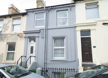 Thumbnail 3 bed terraced house to rent in Margaret Street, Folkestone