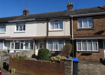 Thumbnail 3 bed terraced house for sale in Leigh Road, Broadwater, West Sussex