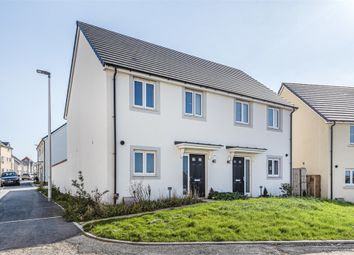 Thumbnail 3 bed semi-detached house for sale in Claypits Road, Roundswell, Barnstaple, Devon