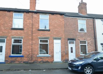 Thumbnail 2 bed terraced house to rent in Old Hall Road, Brampton, Chesterfield