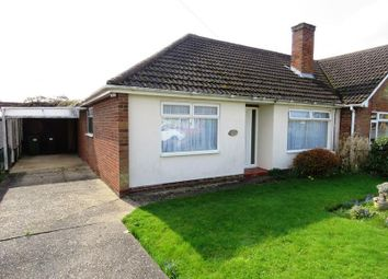 Thumbnail 3 bedroom semi-detached bungalow for sale in Chestnut Road, St. Ives, Huntingdon
