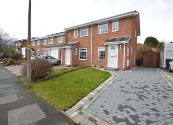 Thumbnail 2 bed semi-detached house for sale in Kingscote Close, Church Hill North, Redditch