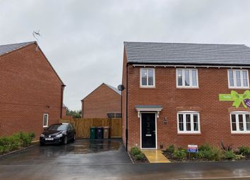 Thumbnail 3 bed semi-detached house for sale in Balmoral Way, Hatton, Derby