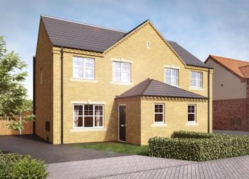 Thumbnail 3 bed property for sale in Camrose Court, Yaddlethorpe Grange, Scunthorpe