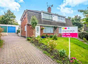Thumbnail 4 bedroom semi-detached house for sale in Mayfair Close, Dudley