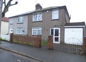 Thumbnail 3 bed semi-detached house for sale in Abbey Road, Greenhithe, Kent
