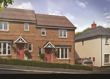 Thumbnail 3 bed semi-detached house for sale in The Green, Ullesthorpe, Lutterworth