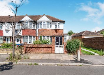 Thumbnail 3 bed end terrace house for sale in Oxford Close, Mitcham