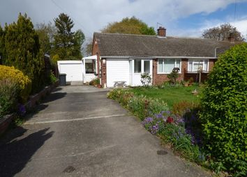 Thumbnail 2 bed semi-detached bungalow for sale in Tudor Close, Bromham, Beds