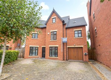 Thumbnail 5 bed detached house for sale in The Moorings, Worsley, Manchester