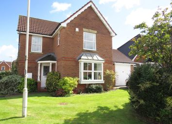 Thumbnail 3 bed detached house for sale in Whitebeam Road, Oadby, Leicester