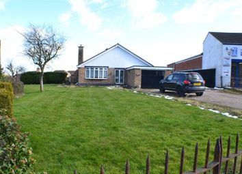 Thumbnail 2 bed detached bungalow for sale in Lutterworth Road, Burbage, Hinckley