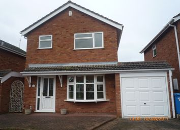 3 bed detached house to rent in Fullmoor Close, Penkridge, Stafford ST19