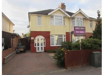 Thumbnail 3 bedroom semi-detached house for sale in Rownhams Road, Southampton