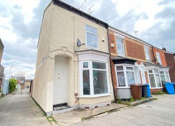 Thumbnail 2 bed end terrace house to rent in Wynburg Street, Hull